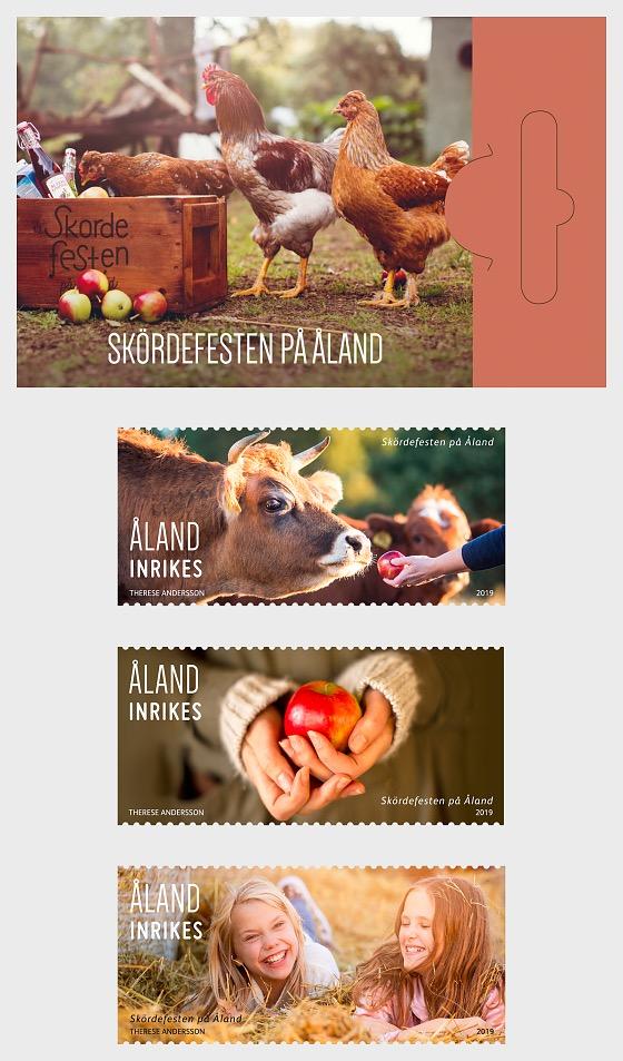 Harvest Festival - Stamp Booklet