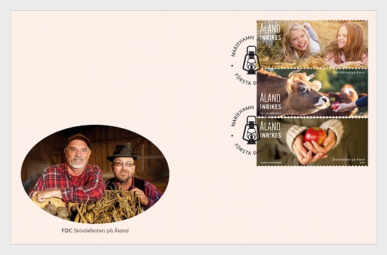 Harvest Festival - First Day Cover