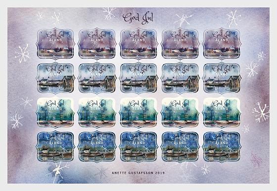 Christmas Seals 2019 - Full sheets