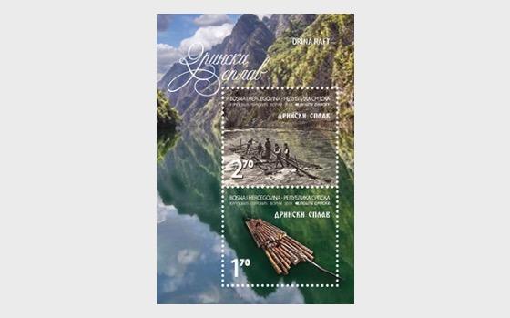 Drina Raft - Miniature Sheet