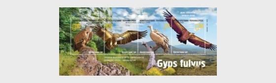 Endangered Species - Griffon Vulture - Miniature Sheet