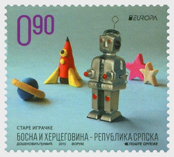 Europa 2015 - Old Toys - Robot - Set