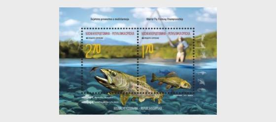 World Championship in Flyfishing - Miniature Sheet