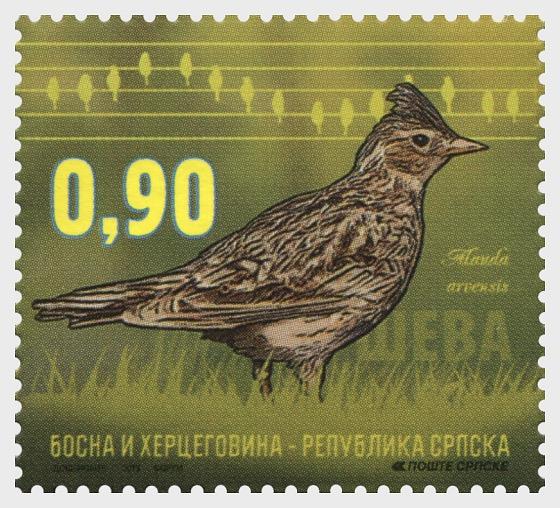 Fauna 2015 - Birds - Lark - Set