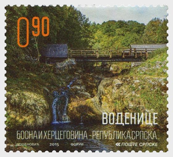 Cultural Heritage - Water Mills - Waterfall - Set