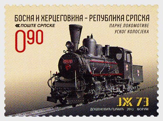 Narrow Gauge Steam Locomotives - JZ 73 - Set