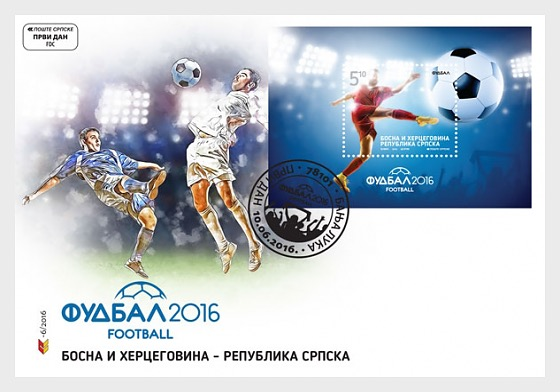 Football - First Day Cover