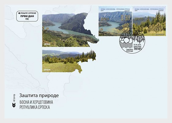 2019 Protection of Nature - First Day Cover