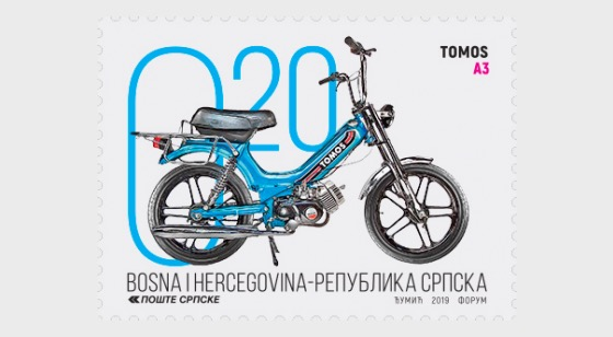 2019 Motorcycles - TOMOS A3 - Set
