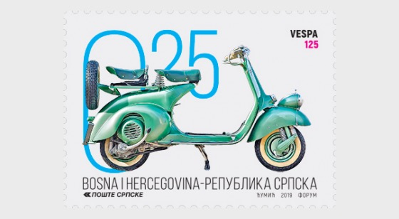 2019 Motorcycles - VESPA 125 - Set