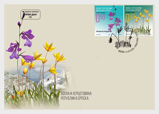 Flora– FDC-A - First Day Cover