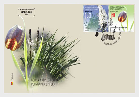 Flora - FDC B - First Day Cover