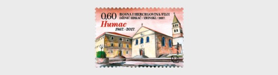150th Ann of the Franciscan monastery reconstruction on Humac - Set