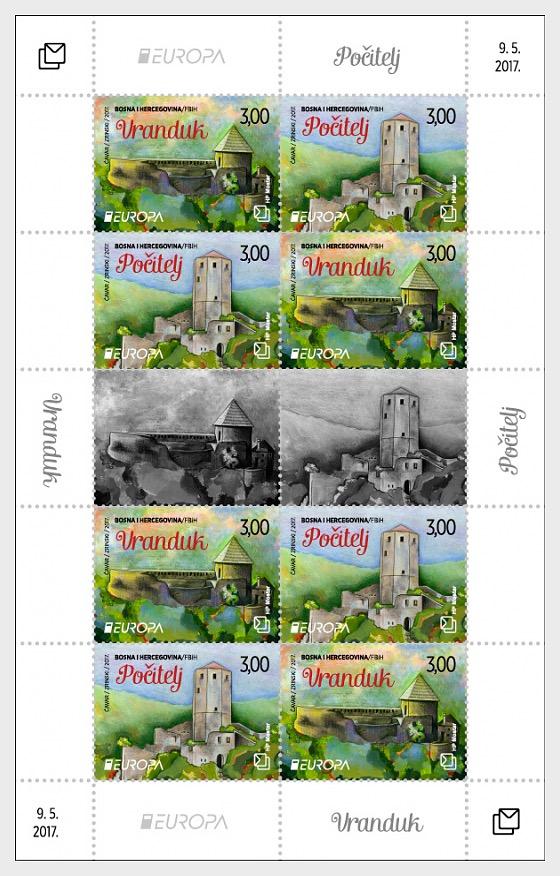 Europa 2017  - Sheetlets