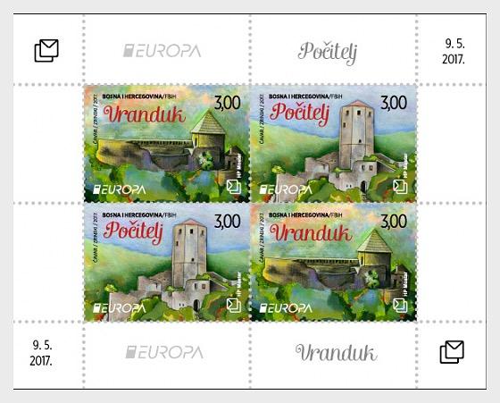 Europa 2017  - Miniature Sheet