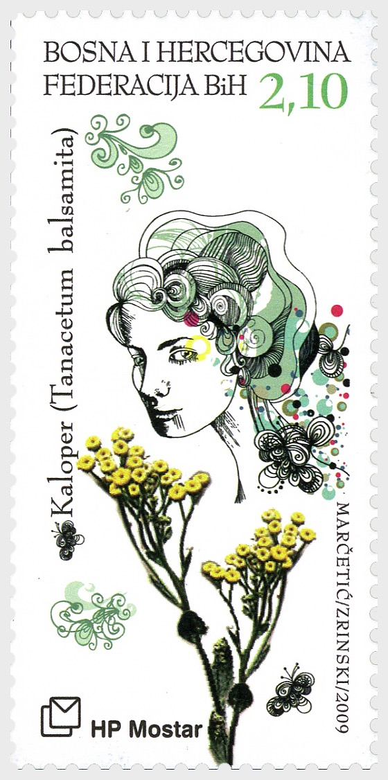 2009 Myths and Flora - (Costmary and Girl) - Set