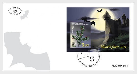 Myths and Flora 2011 - Hawthorn - First Day Cover