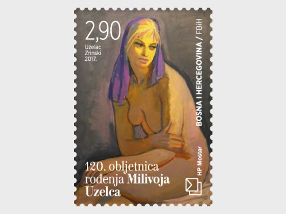 120th Birth Anniversary of Milivoj Uzelac - Set