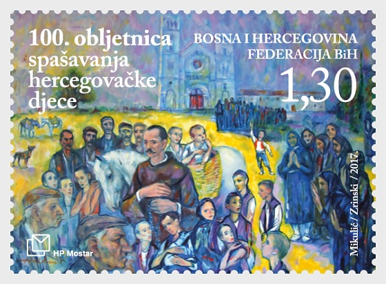 100th Anniversary of Rescuing the Starving Children of Herzegovina - Set