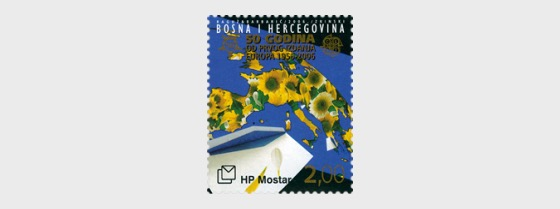 50 Years of the first Issue of Europa 2006 - (Sunflower Stamp) - Set