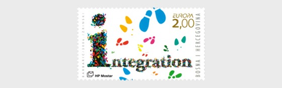 Europa 2006 - Integration of Immigrants - (Foot Stamp) - Set