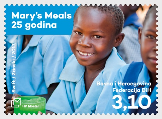 25 Years of the International Humanitarian Organization Mary's Meals - Set