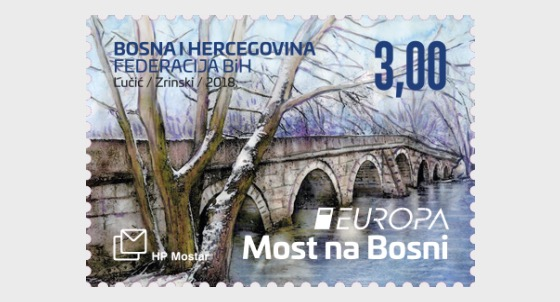 Europa 2018 - (Roman Bridge on River Bosnia in Plandiste) - Set