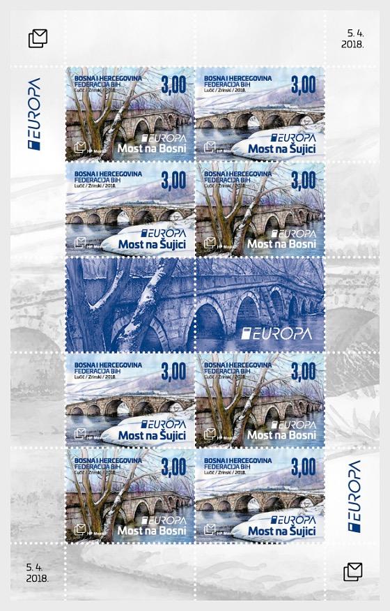 Europa 2018 - Bridges - Sheetlets