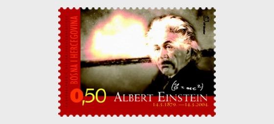 125. Geburtstag von Albert Einstein - Serie