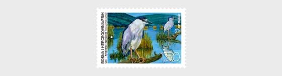Fauna 2009 - (Crowned Night Heron) - Set