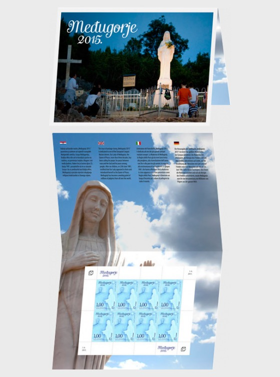 15% Discount on the Mini Carnet Medugorje 2015 - Collectibles