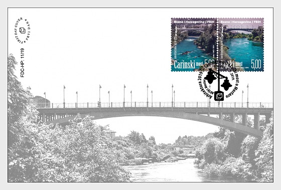 Architecture 2019 - Bridges - First Day Cover