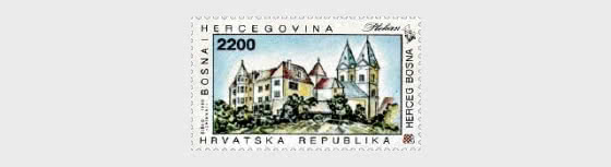 1993 Sacral Architecture of Herceg - Bosnia - Plehan Monastery - Set