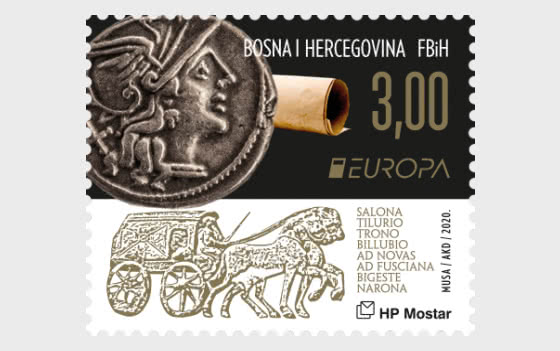 Europa 2020 - Ancient Postal Routes - Roma - Set