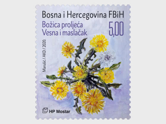 Myths And Flora 2020 - Goddess Vesna and the Dandelion - Set
