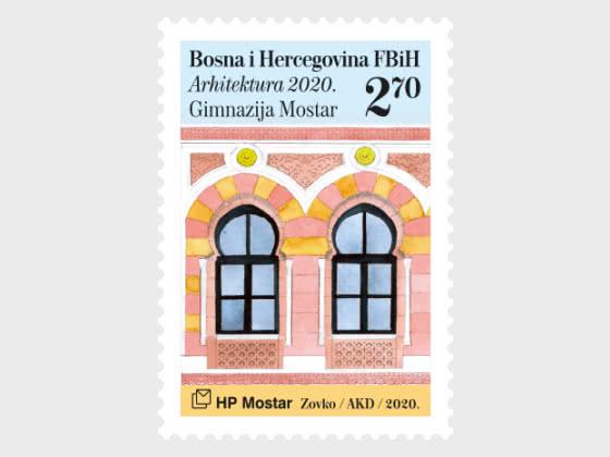 Architecture 2020 - The Mostar Gymnasium - Set