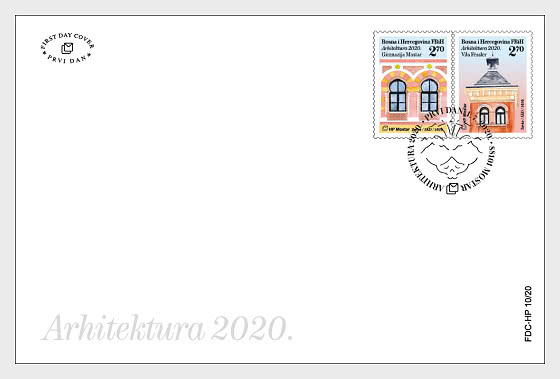 Architecture 2020 - First Day Cover
