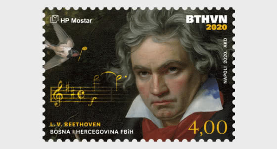 250th Anniversary Of The Birth Of Ludwig Van Beethoven - Beethoven's Face - Set