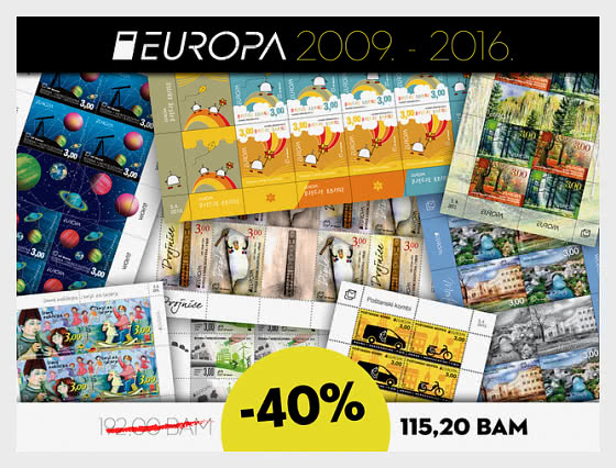 40% OFF Europa sheet sets from years 2009 – 2016! - Collectibles