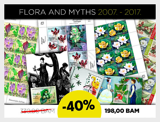 40% Discount on Myths and Flora 2007 to 2017! - Collectibles