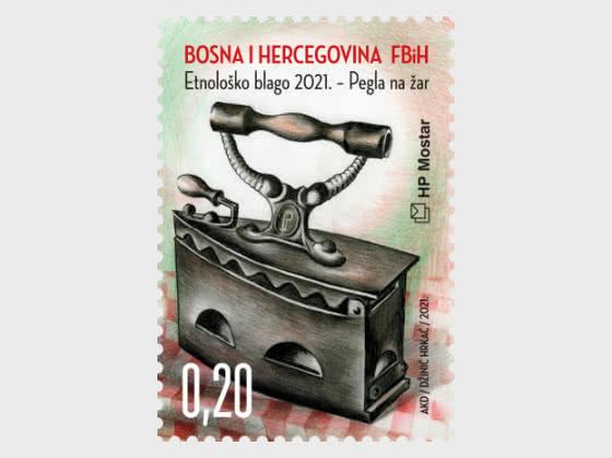 Ethnological Treasure 2021 - Charcoal Iron - Set