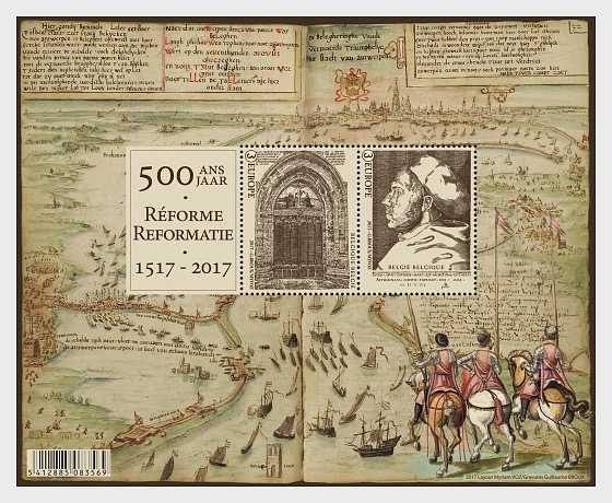 500 years Reformation - Miniature Sheet