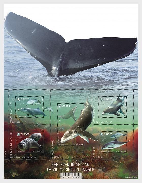 Sealife in Danger - Miniature Sheet