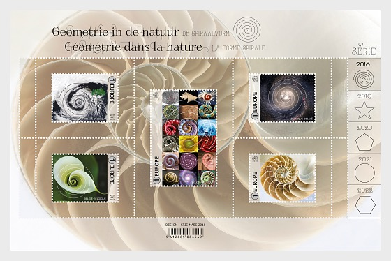 Geometry in Nature 2018 - Miniature Sheet