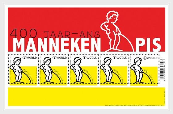 400 Años de Manneken Pis - Mini Hojas