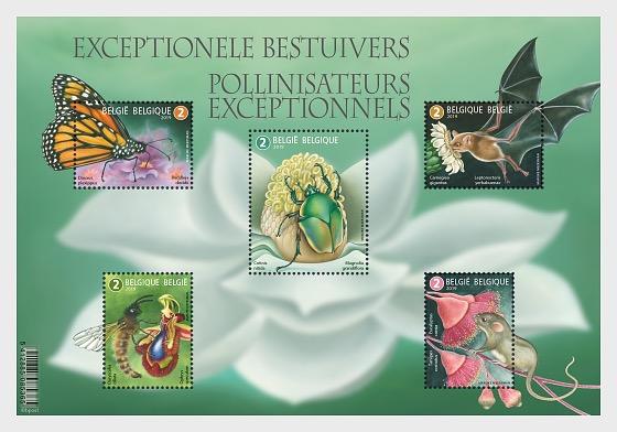 Exceptional Polinators - Miniature Sheet