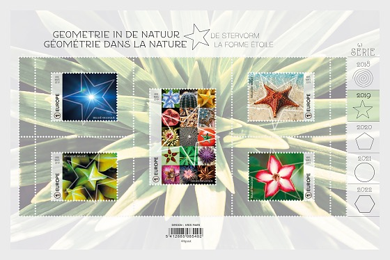 Geometry in Nature, The Star Shape - Miniature Sheet