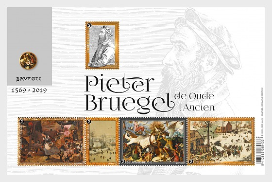 Pieter Bruegel the Elder - Miniature Sheet