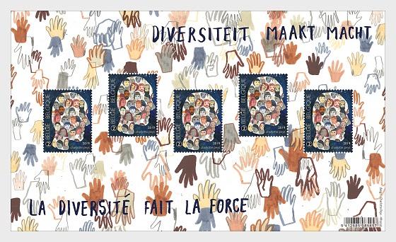 La Diversidad hace Fuerza - Hojas Bloque