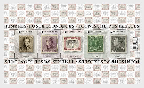 Iconic Postage Stamps - Miniature Sheet